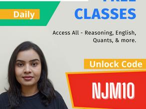 Free Unacademy Classes (Invite Code - NJM10)
