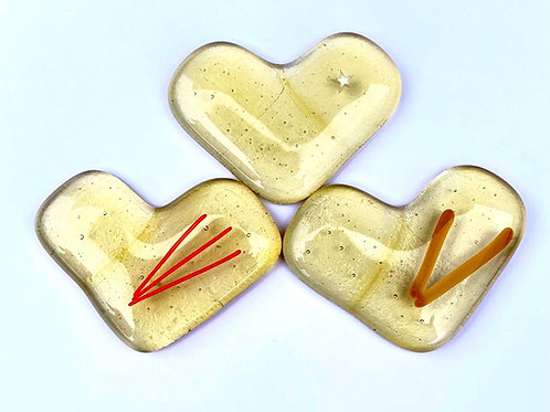 Champagne Lucky Dip Heart