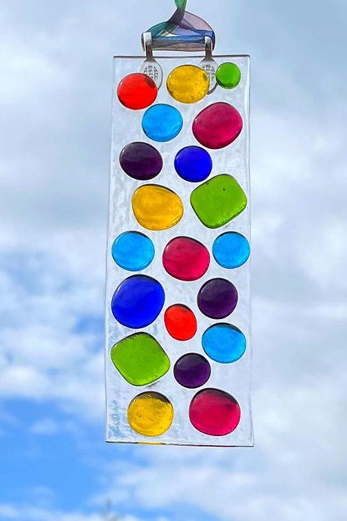 Rainbow Bubbles #2 Suncatcher