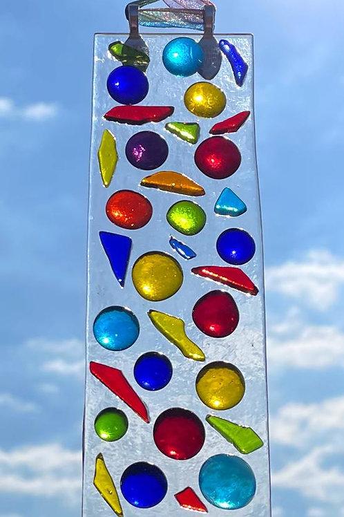 Dots & Graffiti Suncatcher