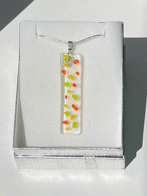 Citrus Graffiti Necklace