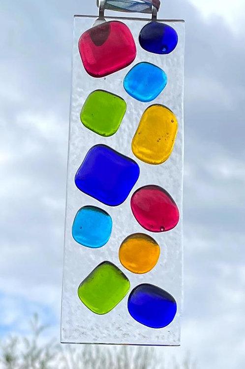 Rainbow Pebbles Suncatcher