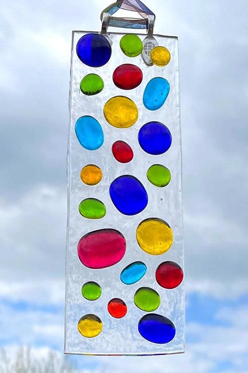 Rainbow Bubbles #1 Suncatcher