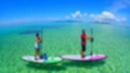 はての浜ツアー、スタンドアップパドルボード、kumejima、久米島、SUP、okinawa、沖縄