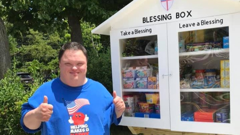 Volunteers Needed Blessing Box
