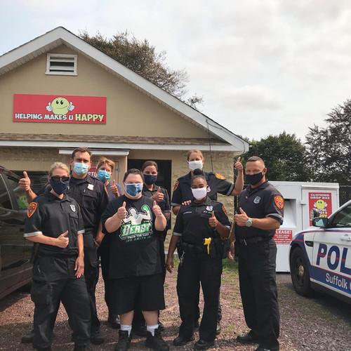 SCPD 7th precinct COPE officers (2020)