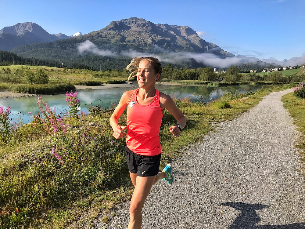TRAINING IN ST. MORITZ PRIOR TO 2017 LONDON WORLD CHAMPIONSHIPS