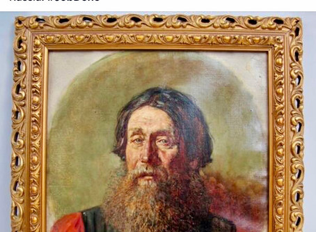 Rare Russian painting found on house call