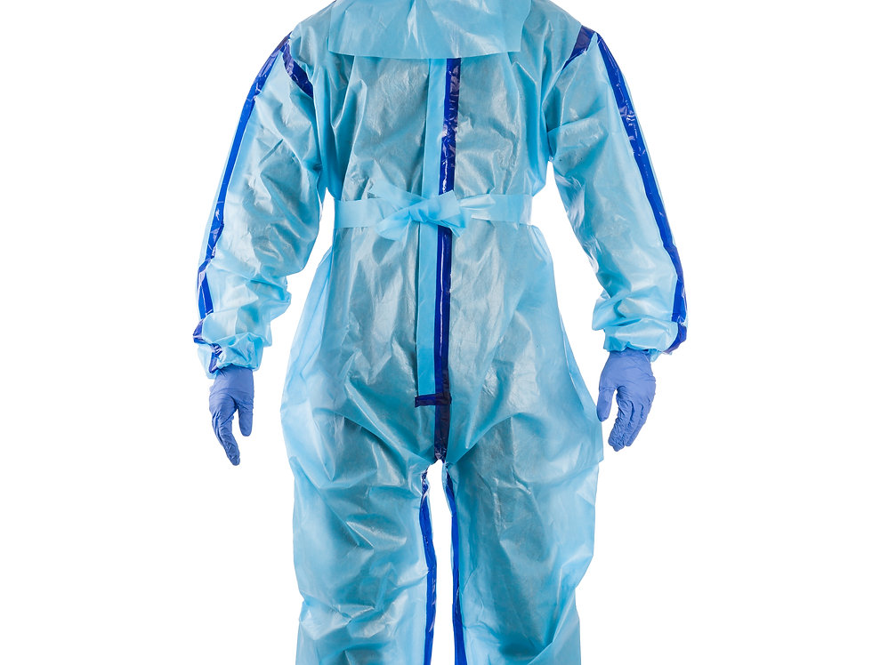 Disposable Protective Microporous Coverall