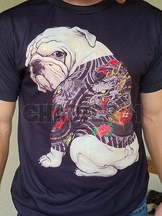 Tattooed Bulldog
