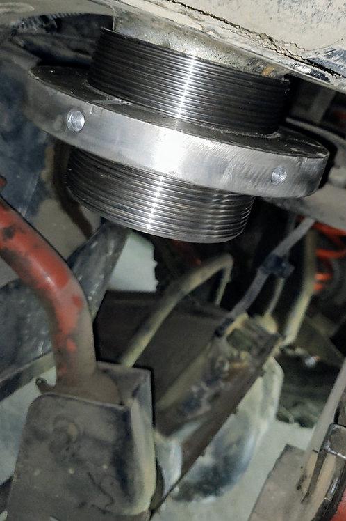 """FlexLift"" Adjustable Spring Lift w/Poly Bump Stops"