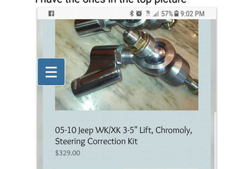 "Our Tie Rod Ends Testimonial: ""I went through to rack and pinion Then I bought these haven&"