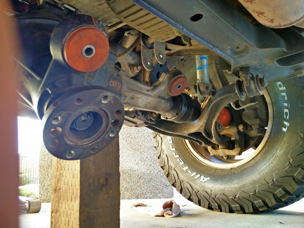 Front Differential Bushings