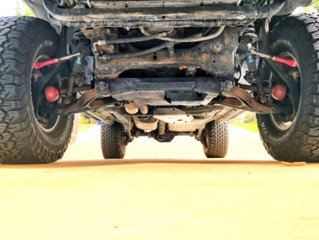 A detailed Review of our SuperFlex tie rods on a SuperLift Fitted Jeep