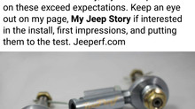 Our Heim Joint based Steering Correction Kit
