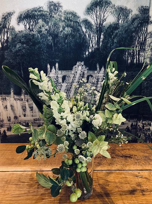 "Bouquet ""Blanc et Vert"""