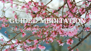 Guided Meditation on Stability
