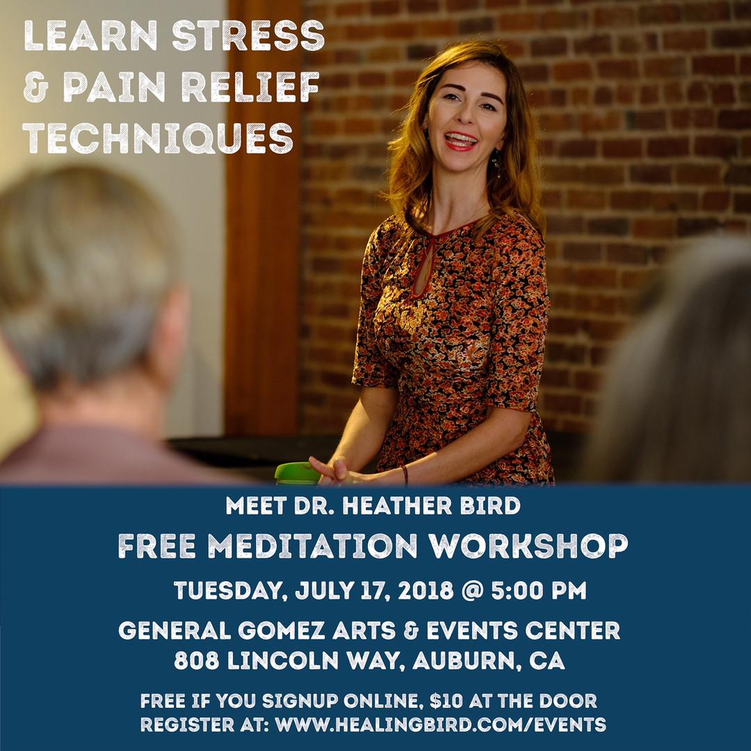 Dr. Heather Bird Meditation Workshop