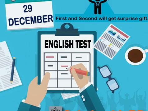 English Test Result-2020