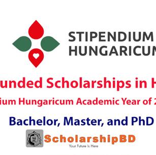 The Stipendium Hungaricum Scholarship Programme for 2021-2022