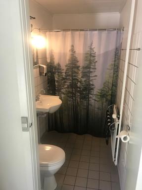 Eget bad og toilet