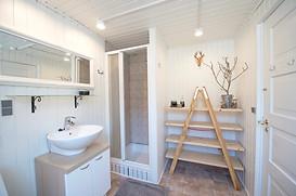 Stort badeværelse