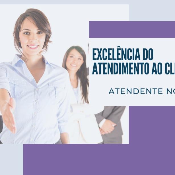 CURSO CAPACITANDO PROFISSIONAIS PARA A EXCELÊNCIA DO ATENDIMENTO AO CLIENTE