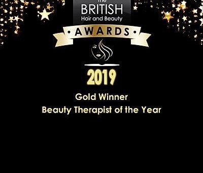 Beauty Therapist of the Year  Gold Award Winner