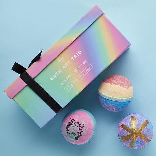 Miss Patisserie Bath Art Trio Gift Box