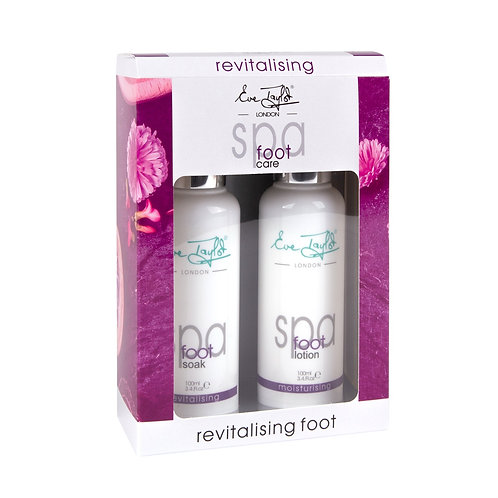 Eve Taylor Spa Duo - Revitalising  Minty Foot Soak & Lotion Kit