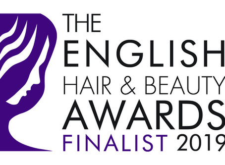 We are Finalists at the English Hair and Beauty Awards 2019