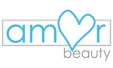Logo, Amor Beauty, Beauty Salons near me, Worcester Park, Surrey