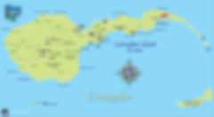Corregidor Island 2018 Map, Way2Go Maps, Bataan, Philippines