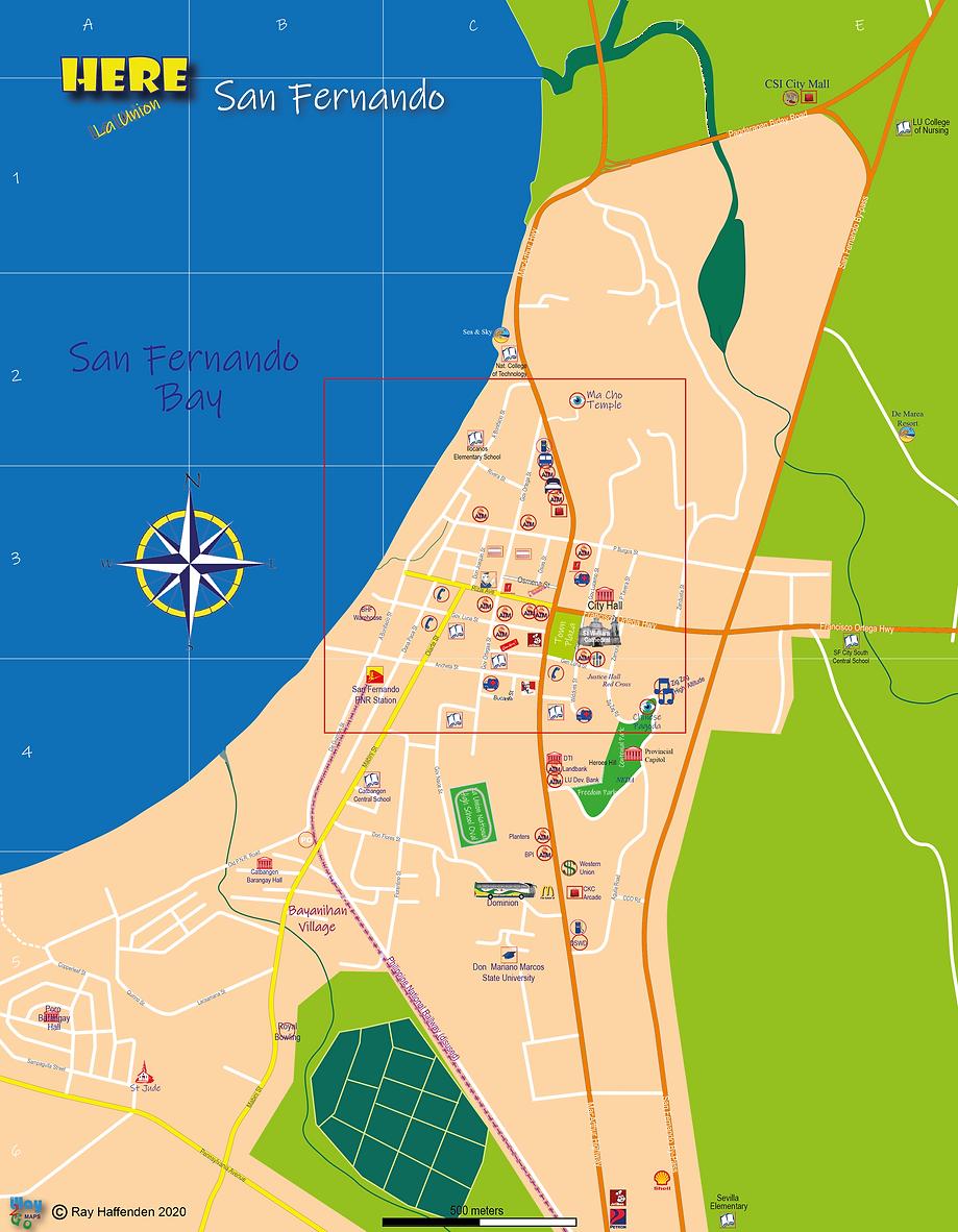 Here-La Union map of San Fernando City.p