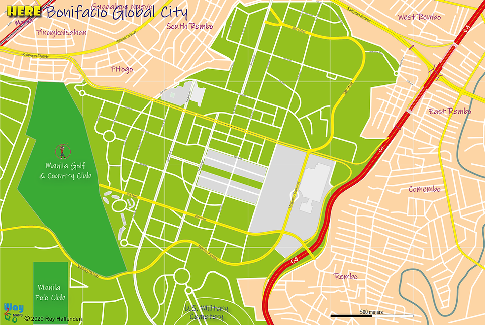 Here-Manila Bonifacio Global City Map 20