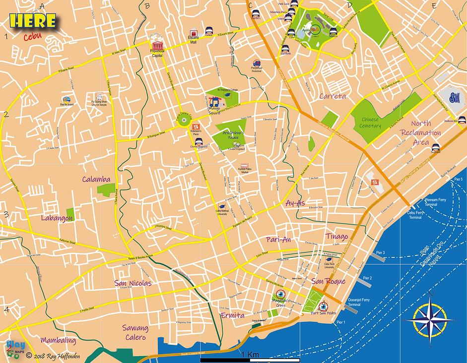 Here - Cebu  Cebu City Centre Map.png