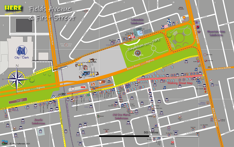 Here-Angeles City Fields and 1st map 202