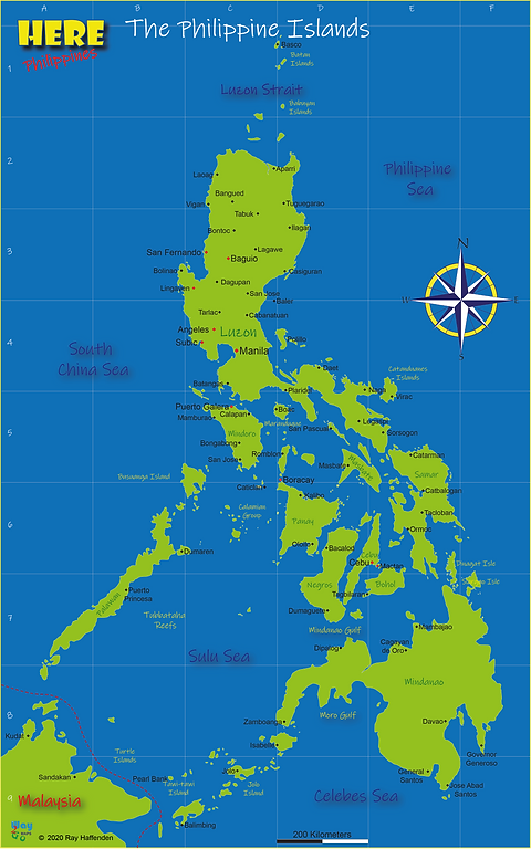 Here-Philippines Map of the Philippine I