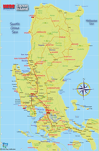 Map of Luzon Island 2020.png