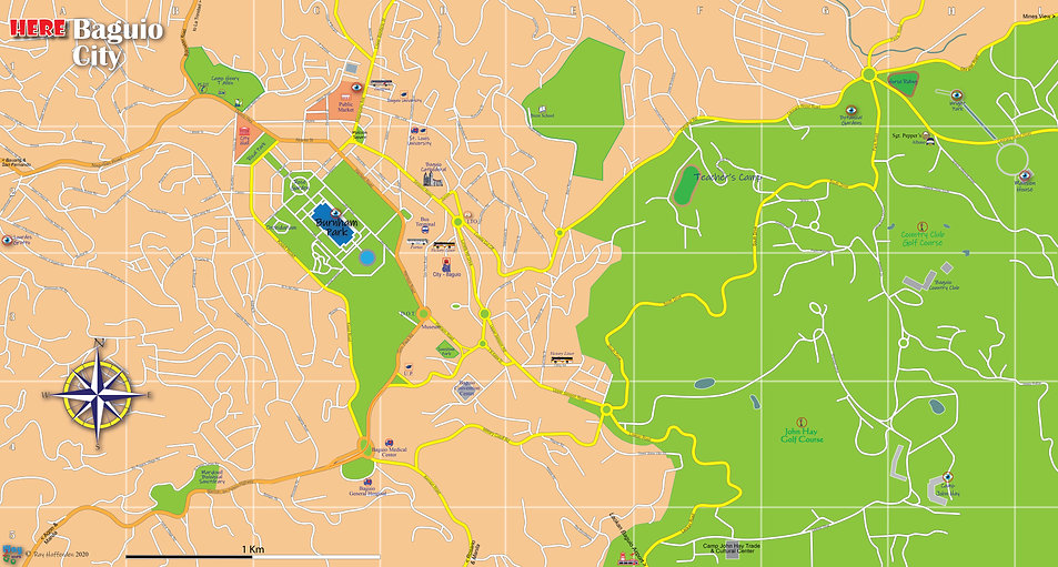 Map of Baguio 2020.png