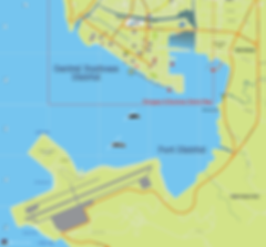 Map of Subic Freeport Port & Business District, Subic Bay, Philippines