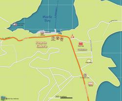 Map of Puerto Galera Town 2020