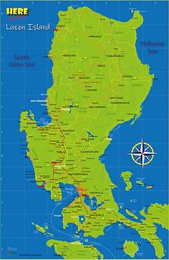 Here - Luzon map of Luzon Island.png