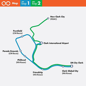 Clark Loop Bus Routes
