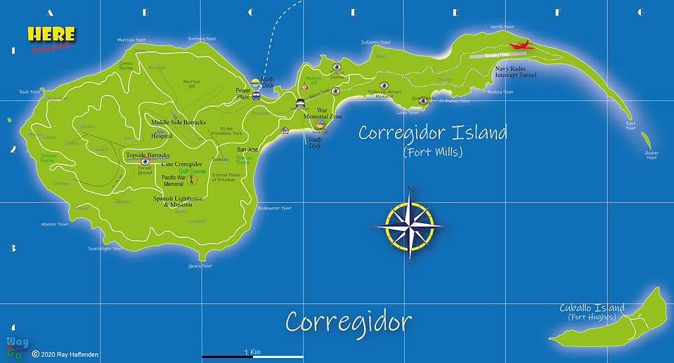 Here-Philippines Corregidor Island Map.p