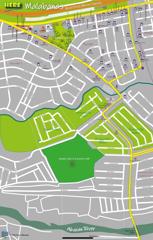 Here-Angeles City Malabanias map 2020.pn