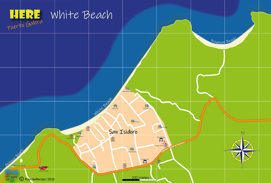 Here-Puerto Galera White Beach Map.png