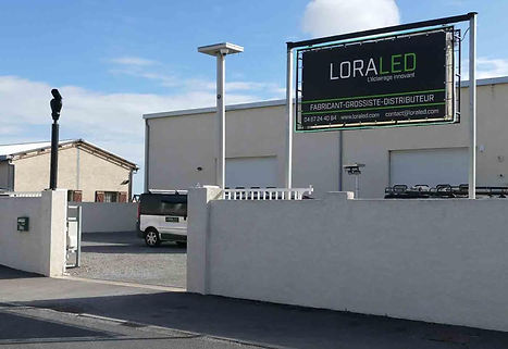 LORALED, grossiste éclairage LED, éclairage industriel