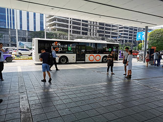 Clark Loop bus SM City Clark