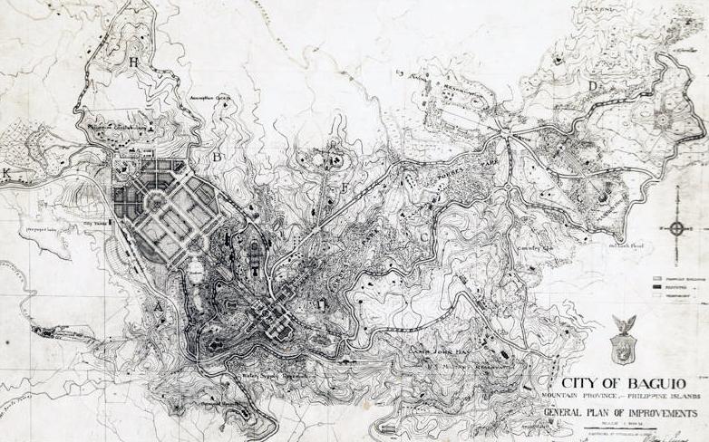 Burnham's Plan of Baguio City.png